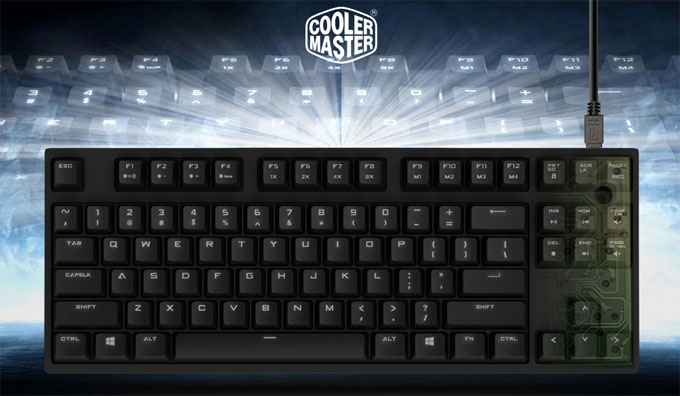 Cooler Master QuickFire Rapid-I Mechanical Keyboard