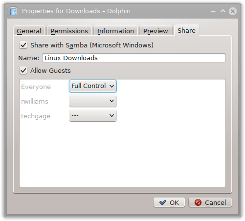 Using Samba to Share Your Linux Folders with Another PC or