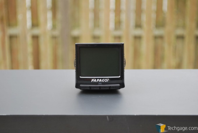 PAPAGO! P2 Pro Dashcam - Front View