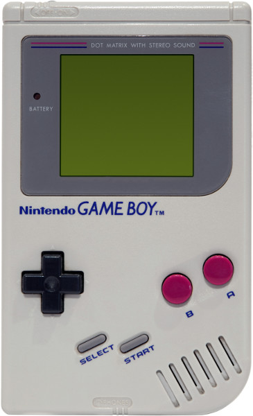 Original Nintendo Gameboy with Tetris running
