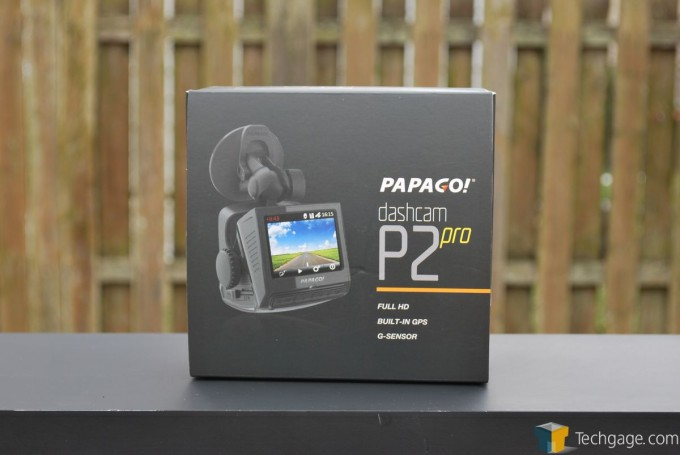 PAPAGO! P2 Pro Dashcam - Packaging