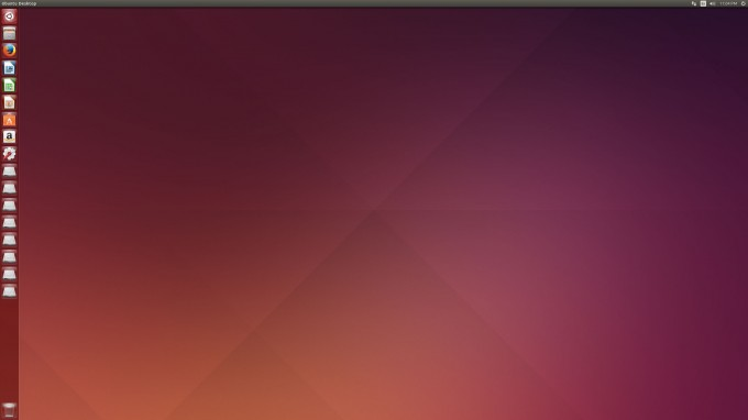 Ubuntu 14.04 'Trusty Tahr' - Default Desktop