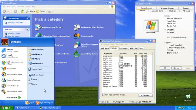 Windows XP - Basic Apps