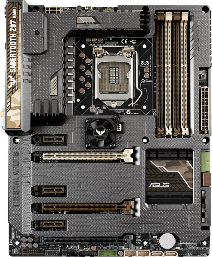 ASUS SABERTOOTH Z97 Mark 1 Motherboard