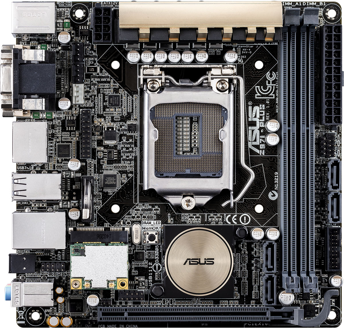 ASUS Z97I-PLUS mini-ITX Motherboard Review – Techgage