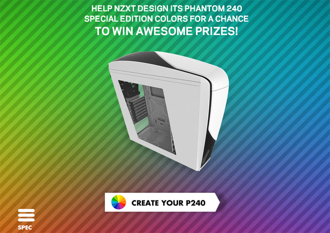NZXT Create Your Phantom 240