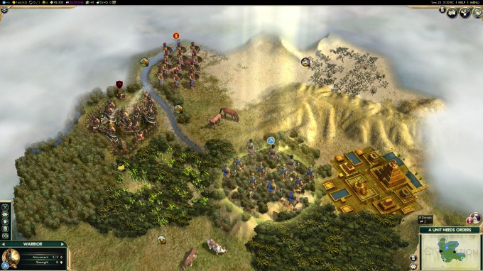 Civilization V for Linux - Close-up
