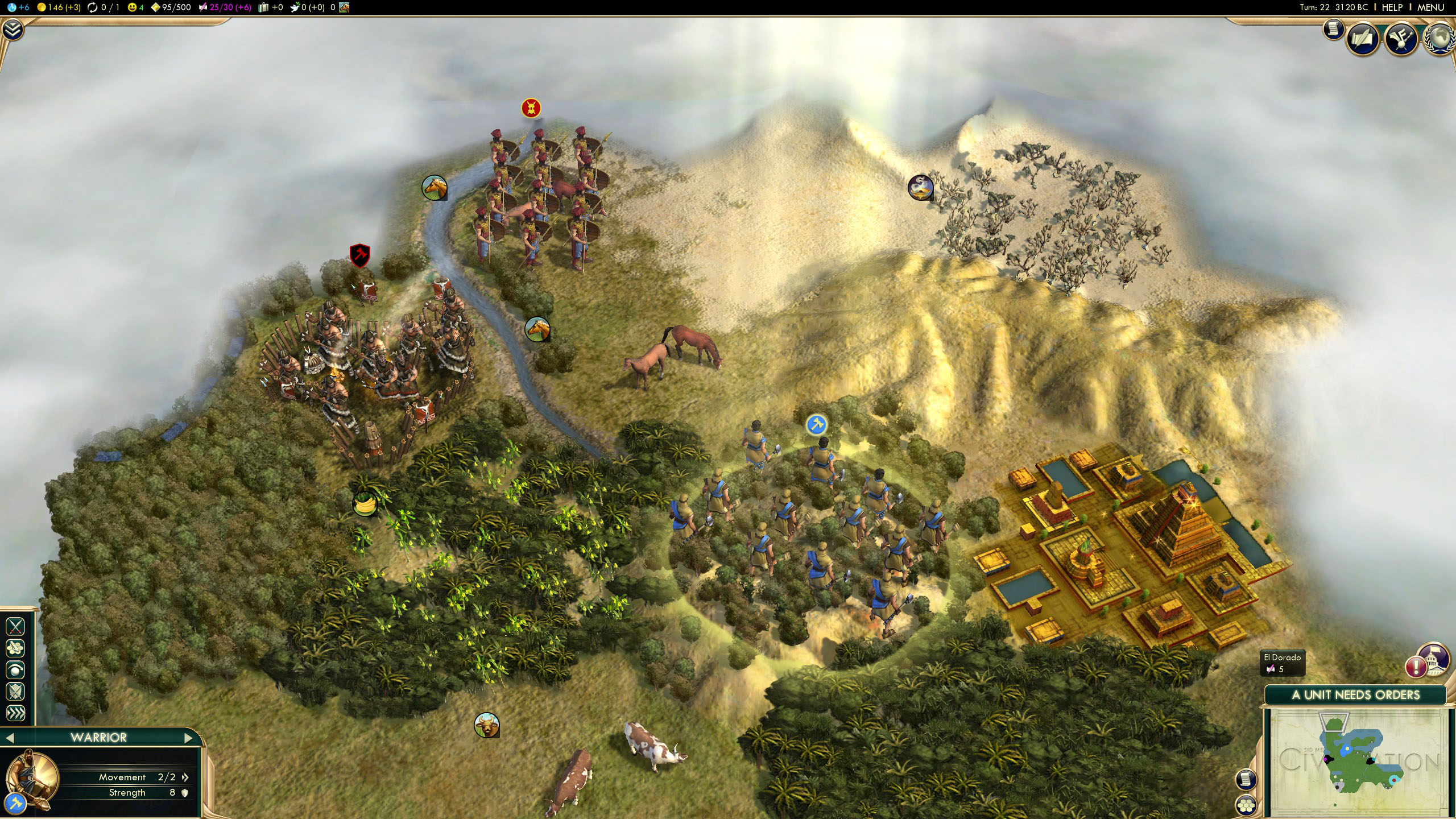 First Impressions of Civilization V on Linux – Techgage