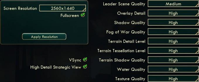 Civ 5 best options settings