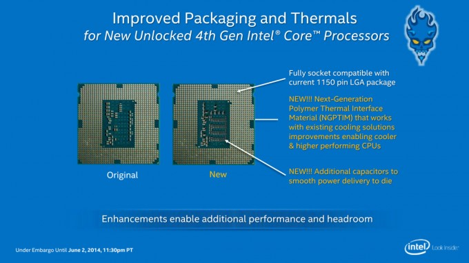 Intel Core i7-4790K Capacitors