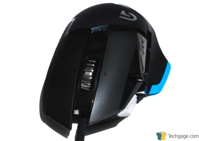 Logitech G502 Proteus Core Mouse Frontal
