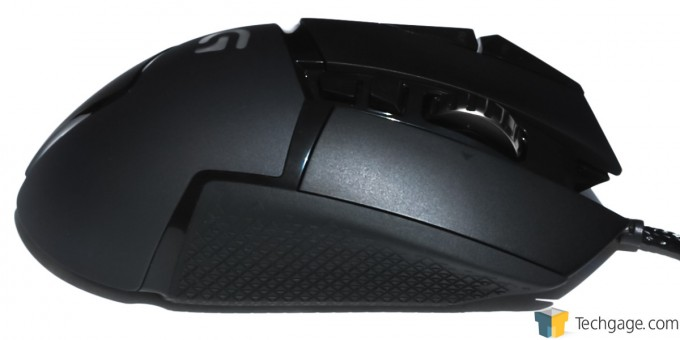 Logitech G502 Proteus Core Mouse Right Side