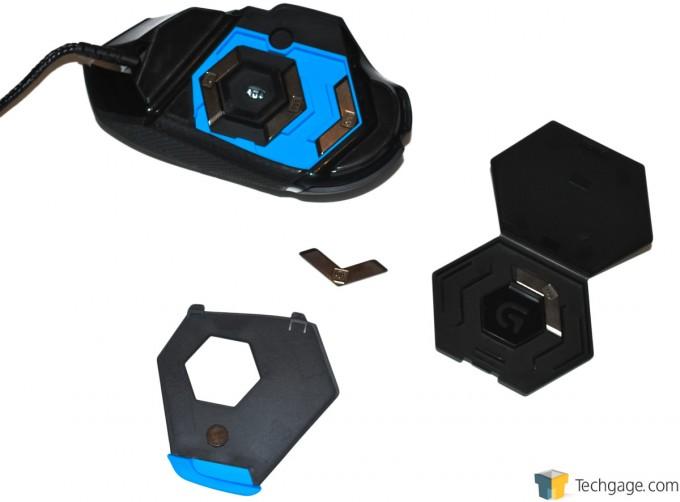 Logitech G502 Proteus Core Mouse Weight System 2