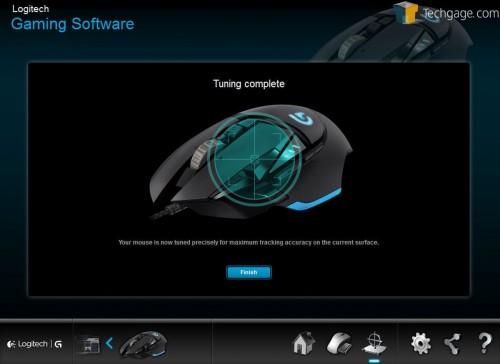 Logitech G502 Software Surface Cailbration Complete