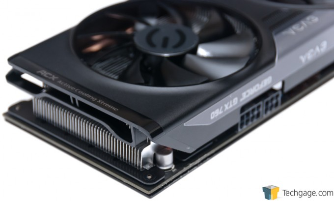 EVGA GeForce GTX 760 SC - Air Exhaust