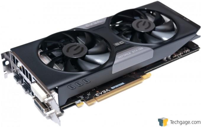 EVGA GeForce GTX 760 SC - Card Overview