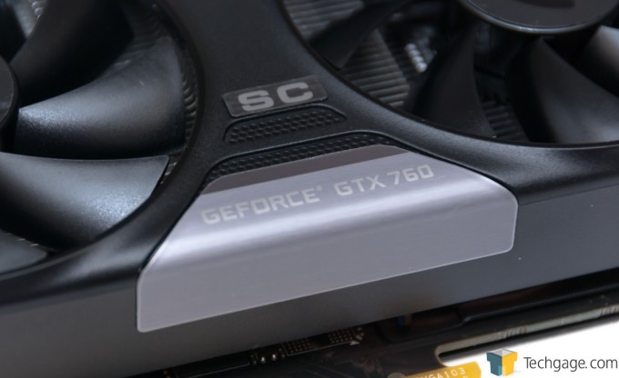 EVGA GeForce GTX 760 SC - Glamor Shot