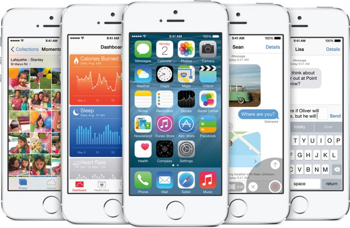 iPhone 5S Using iOS 8