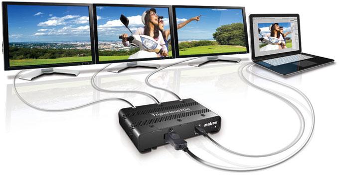 Matrox TripleHead2Go Digital SE Promo
