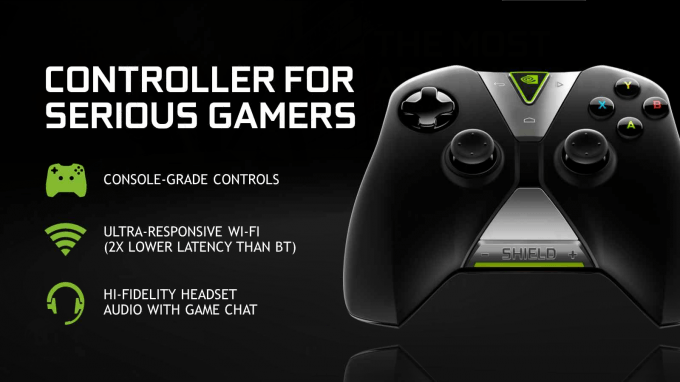 NVIDIA SHIELD Tablet - SHIELD Controller