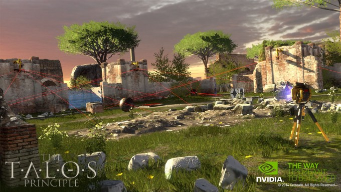 NVIDIA SHIELD Tablet - The Talos Principle