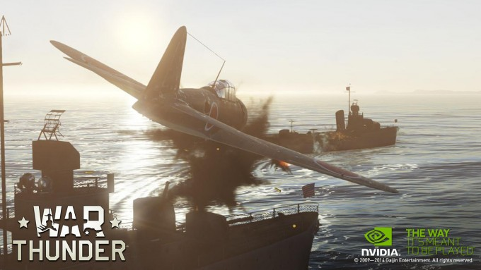 NVIDIA SHIELD Tablet - War Thunder