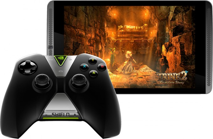 NVIDIA SHIELD Tablet and Controller