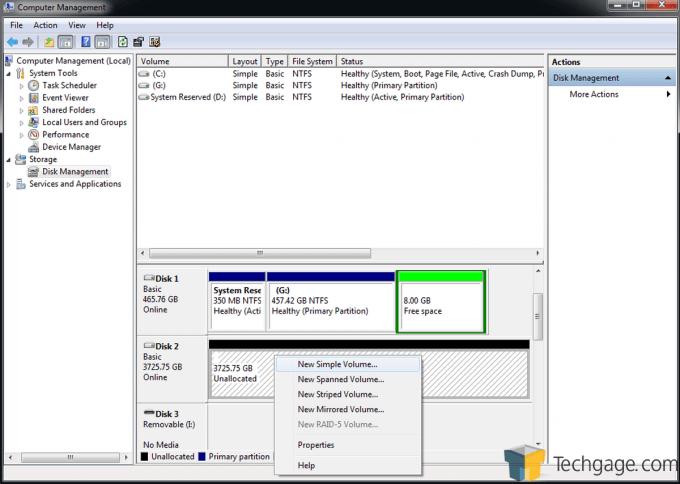 Teratrend TS432U Simple Volume Create 1