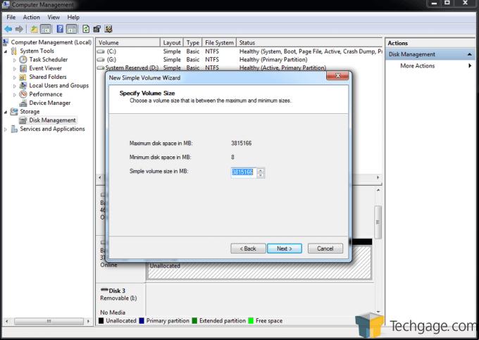 Teratrend TS432U Simple Volume Create 2