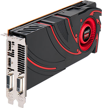 AMD Radeon R9 285 Graphics Card