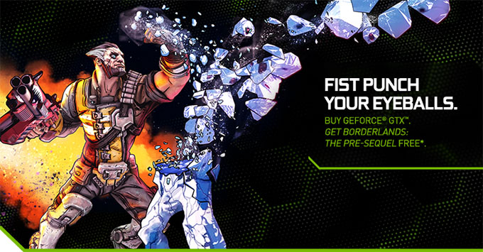 NVIDIA GeForce GTX Promotion - Borderlands The Pre-Sequel