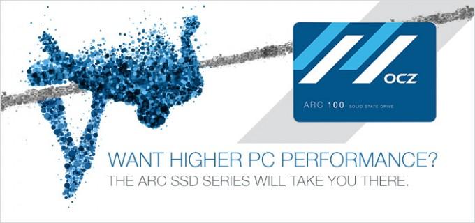 OCZ ARC SSD promo
