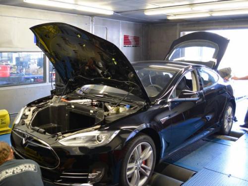 Saleen Tesla S Prototype