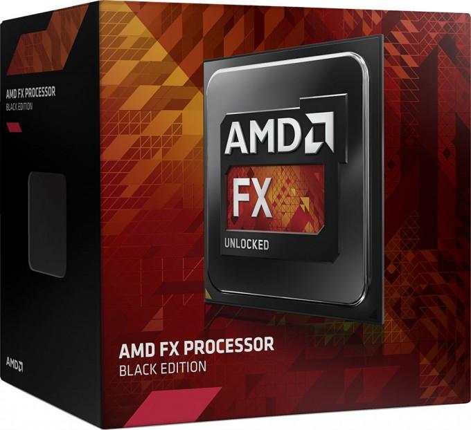 AMD FX Black Edition Processor Box Art