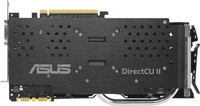 ASUS GeForce GTX 970 Strix - Backplate