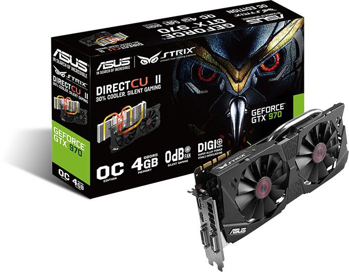 ASUS GeForce GTX 970 Strix Edition - Box