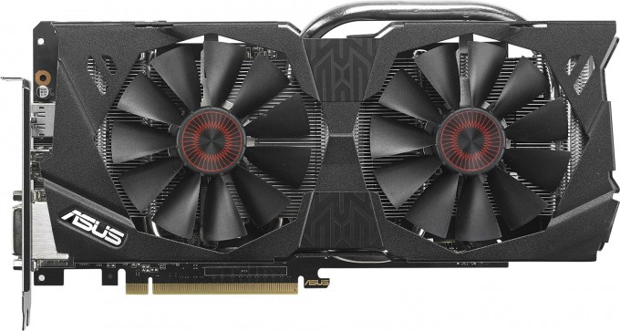 ASUS GeForce GTX 970 Strix - Profile View