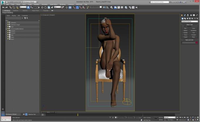 Autodesk 3ds Max 2015 - Naomi Render