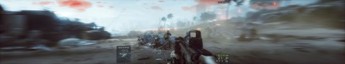 Battlefield 4 - Best Playable Multi-Monitor - ASUS GeForce GTX 970 Strix
