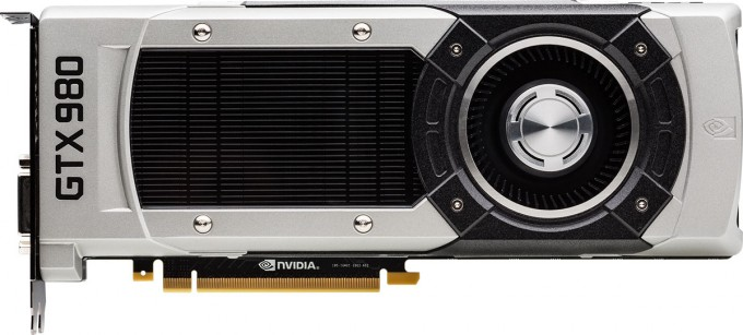 NVIDIA GeForce GTX 980 Graphics Card - Flat