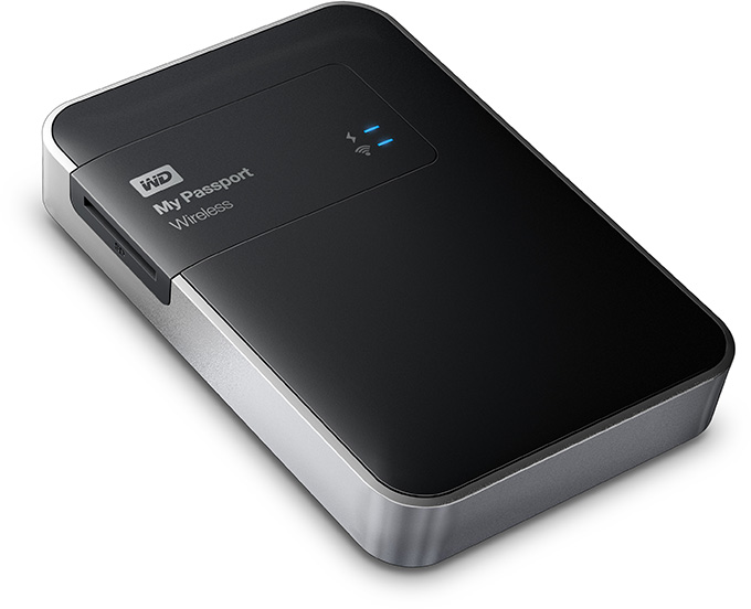 WD My Passport Wireless External Hard Drive