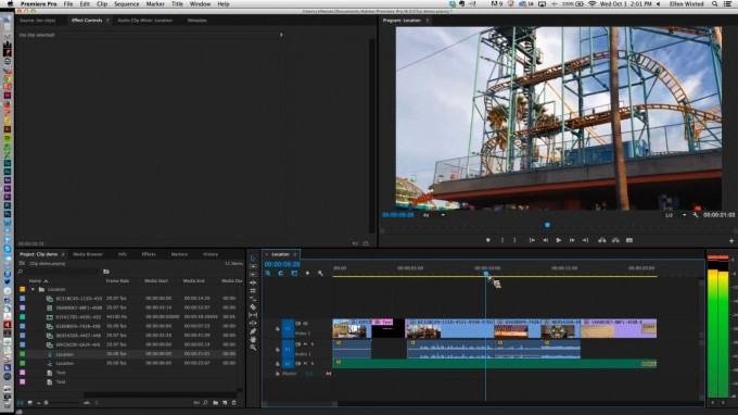 Adobe Creative Cloud - Premiere Clip to Premiere Pro Project