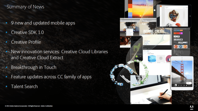 Adobe Creative Cloud Update Fall 2014