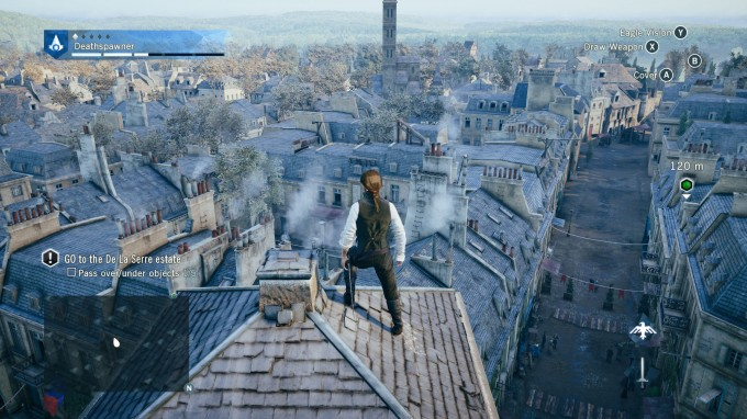Assassin's Creed Unity Low Texture Detail