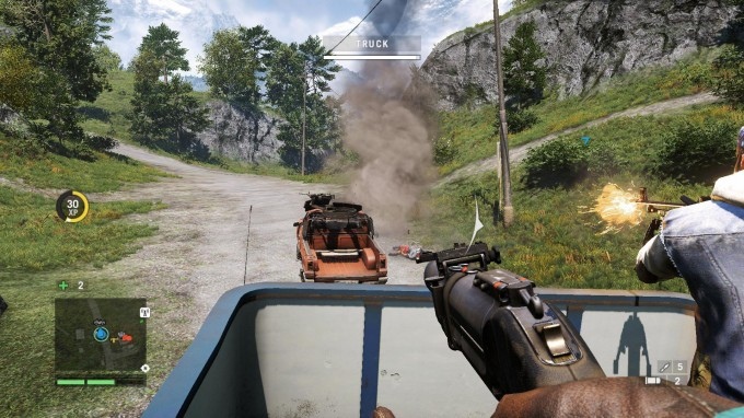 Far Cry 4 - Driving Action