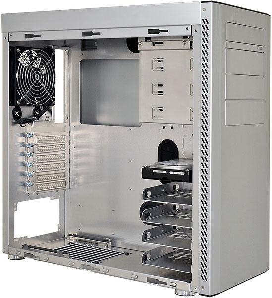 Lian Li PC-A61 Silver Chassis - Open