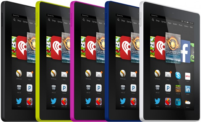Amazon Fire HD 7 (2014) Colors