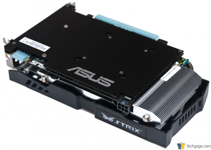 ASUS GeForce GTX 960 STRIX - Card Back