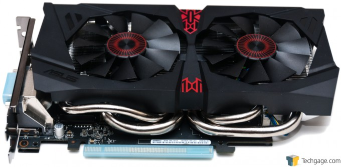 ASUS GeForce GTX 960 STRIX - Card Overview