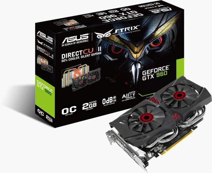ASUS GeForce GTX 960 Strix - Boxed